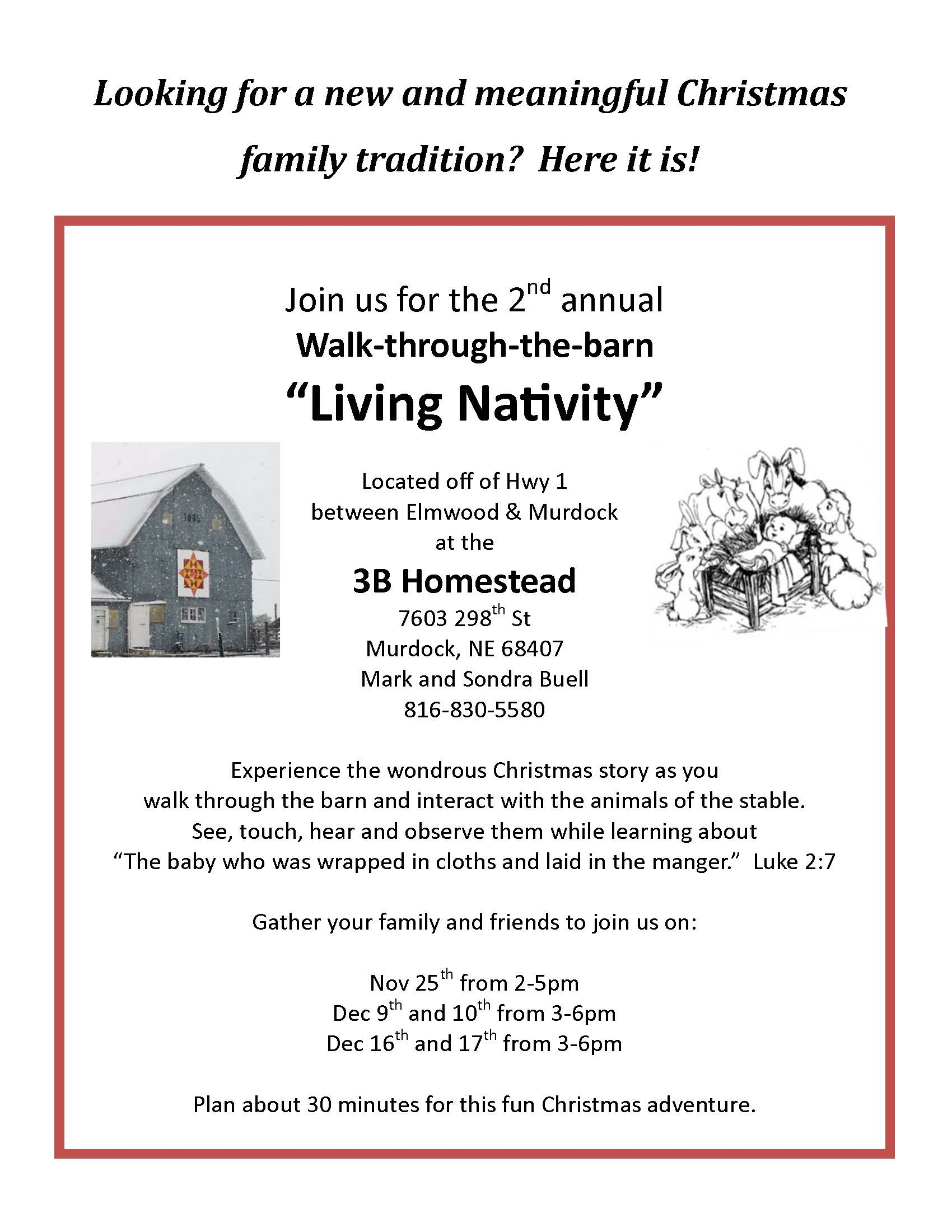 Living Nativity flyer 2017 final