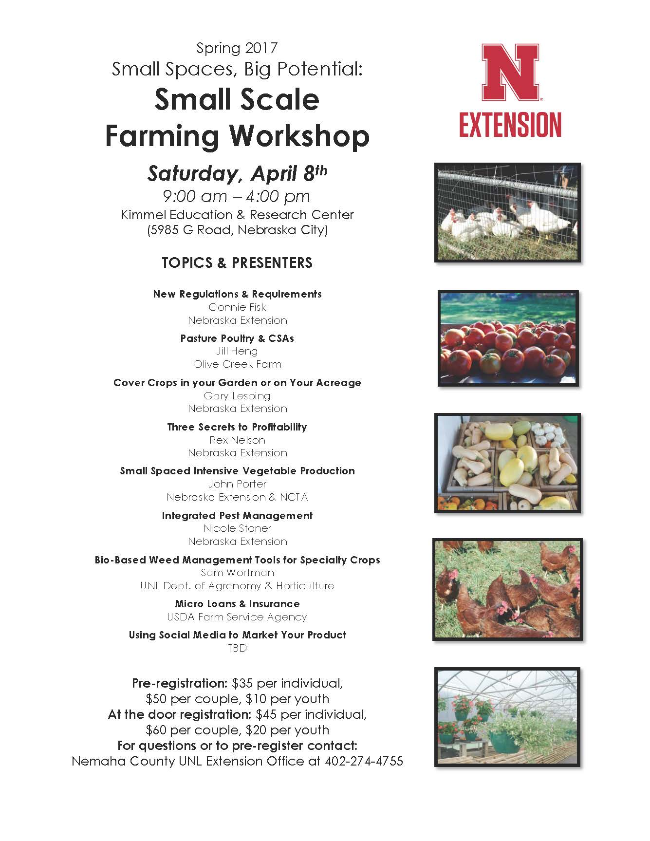 Small Scale Farming Workshop 2017