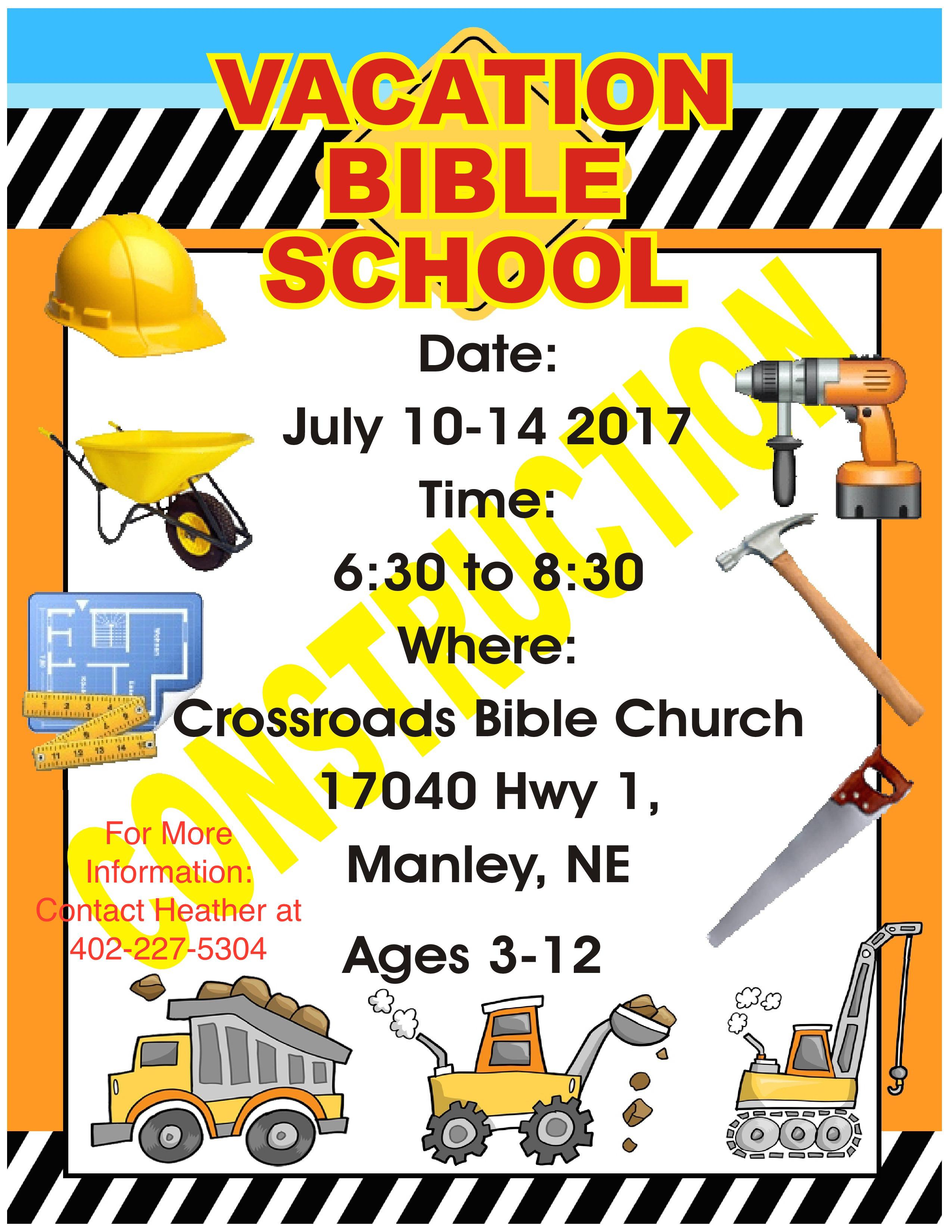 VBS Flyer Updated