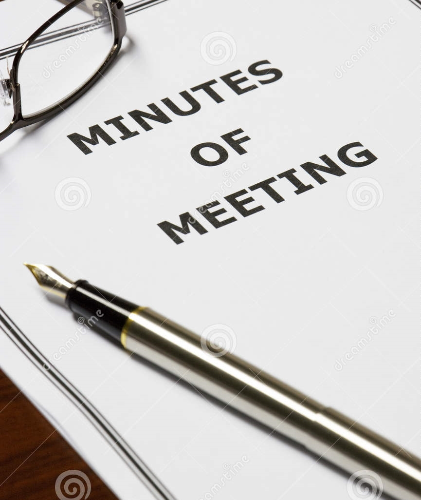 minutes meeting 10143310 copy copy copy copy