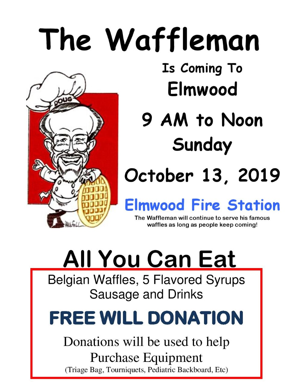 thumbnail The Waffleman Flyer 2019 page 001